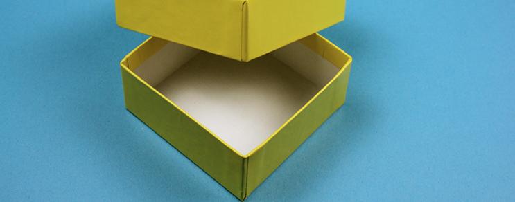 Karton kutu 13,6x13,6x3,2 cm