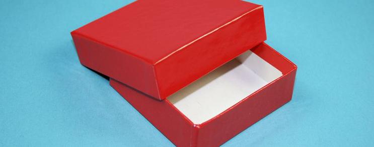 Karton kutu 7,6x7,6x2,5 cm